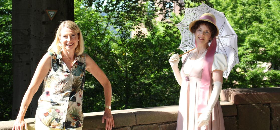 Anina Strothmann mit Sophie Mereau-Brentano (Susanne Späinghaus)